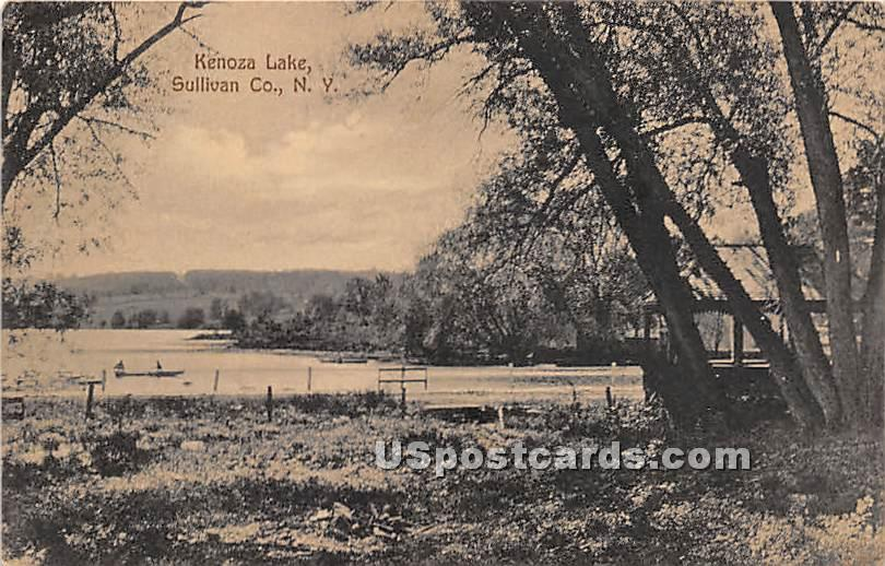 Lake View - Kenoza Lake, New York NY Postcard