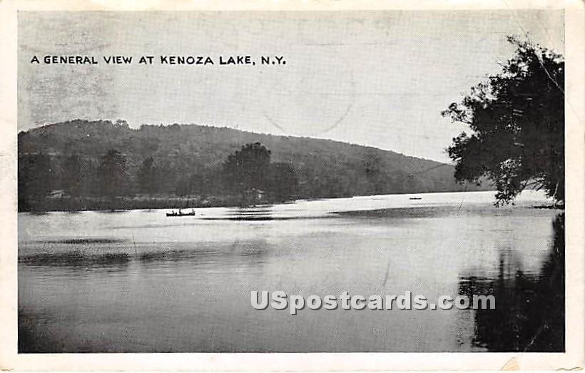 General View - Kenoza Lake, New York NY Postcard