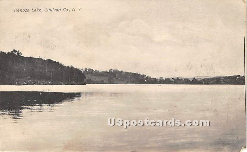 Kenoza Lake - New York NY Postcard