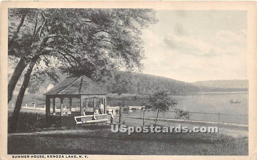 Summer House - Kenoza Lake, New York NY Postcard