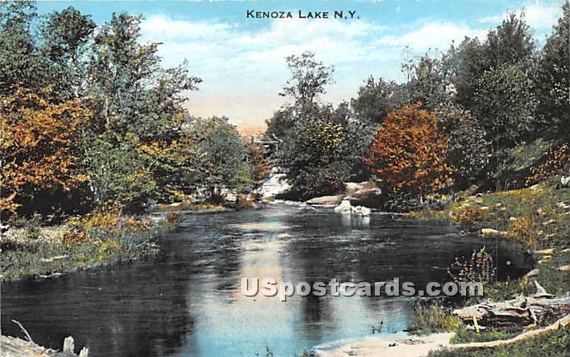 Water View - Kenoza Lake, New York NY Postcard