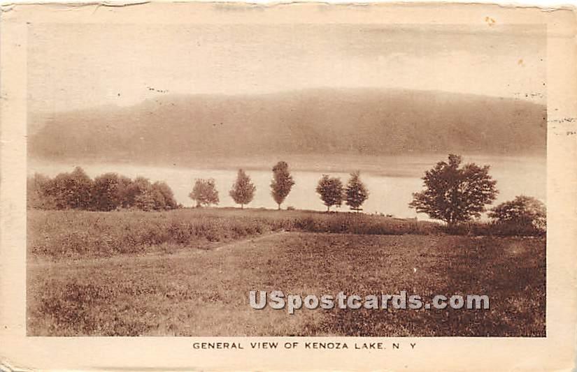 General View - Kenoza Lake, New York NY Postcard