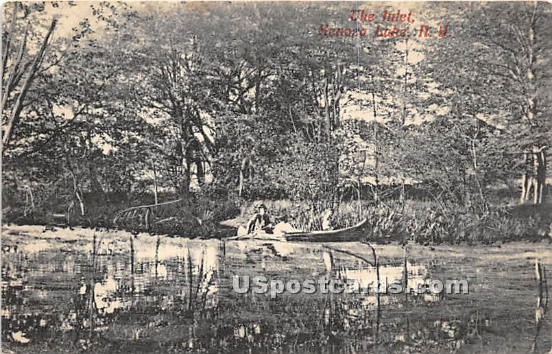 The Inlet - Kenoza Lake, New York NY Postcard