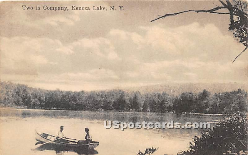 Two is Company - Kenoza Lake, New York NY Postcard