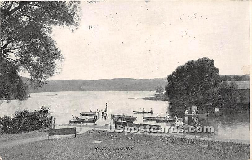 Lake View - Kenoza Lake, New York NY Postcard
