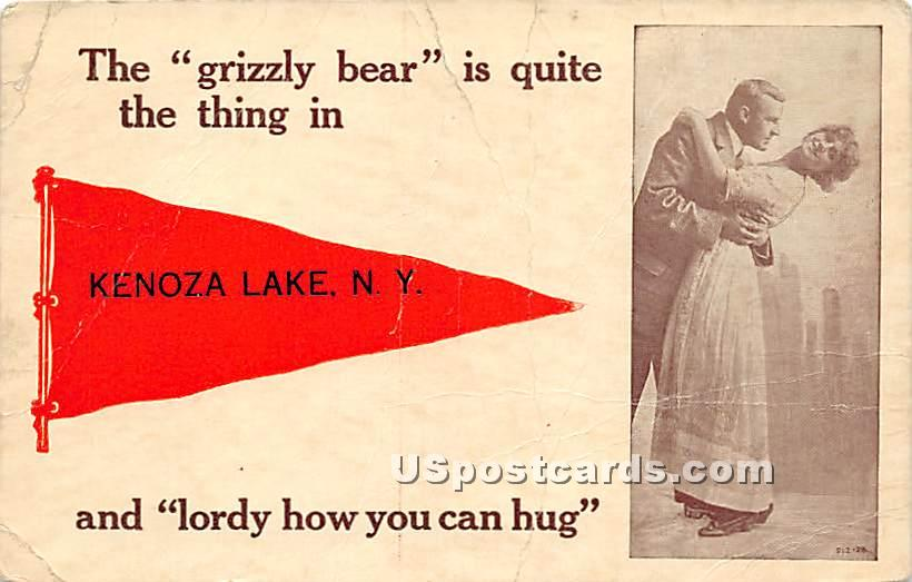 The Grizzly Bear - Kenoza Lake, New York NY Postcard