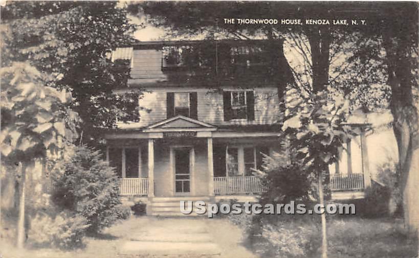 The Thornwood House - Kenoza Lake, New York NY Postcard