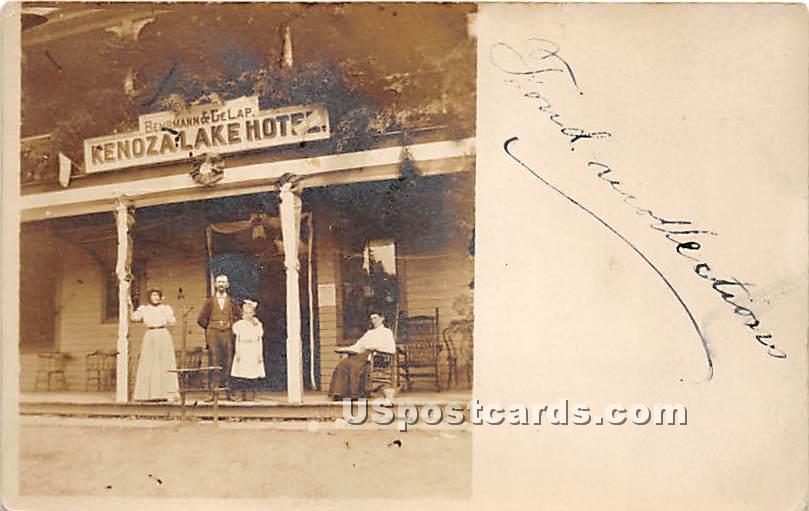 Kenoza Lake Hotel - New York NY Postcard