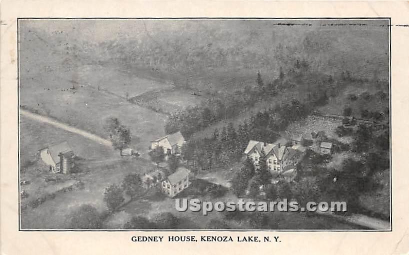 Gedney House - Kenoza Lake, New York NY Postcard