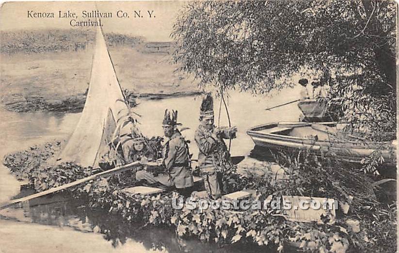 Camp - Kenoza Lake, New York NY Postcard