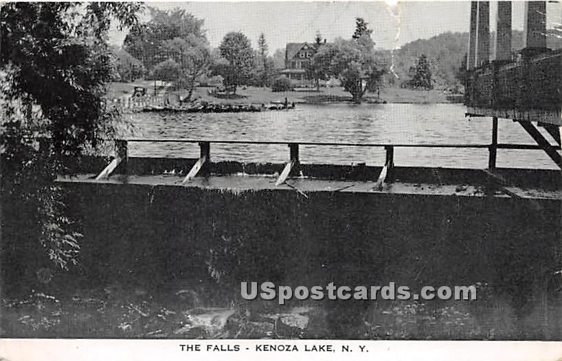 The Falls - Kenoza Lake, New York NY Postcard