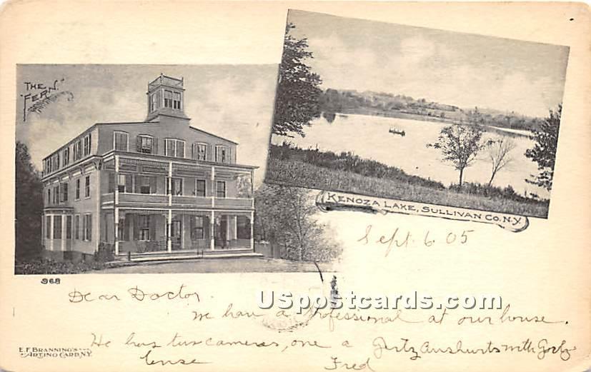 The Fern - Kenoza Lake, New York NY Postcard