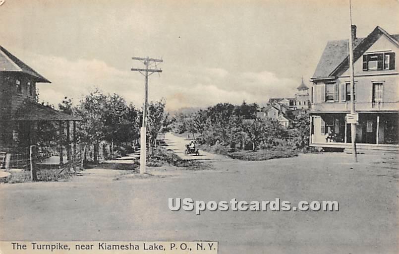 Pillsbury's Best Flour - Kiamesha Lake, New York NY Postcard