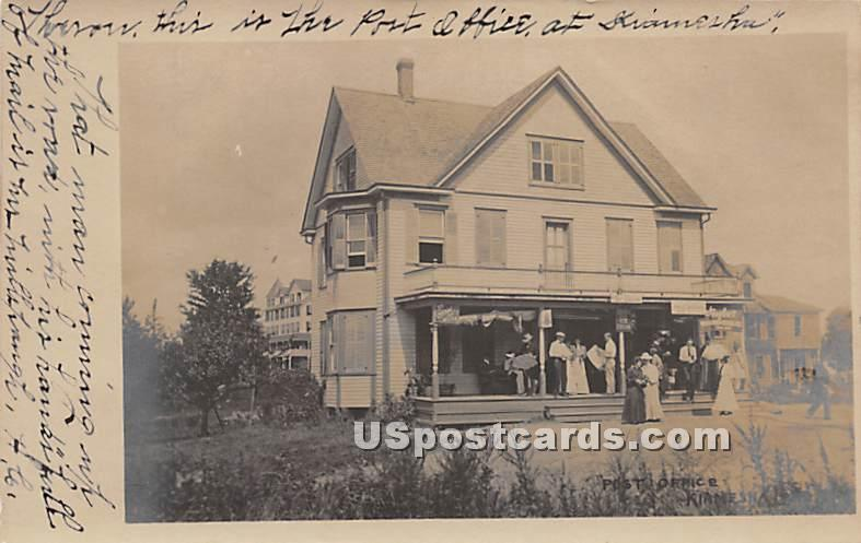 Post Office - Kiamesha Lake, New York NY Postcard