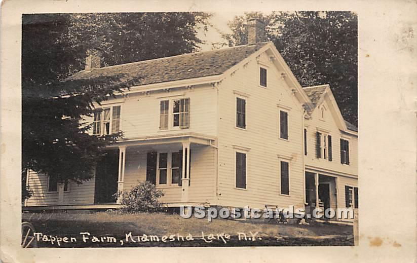 Tappen Farm - Kiamesha Lake, New York NY Postcard
