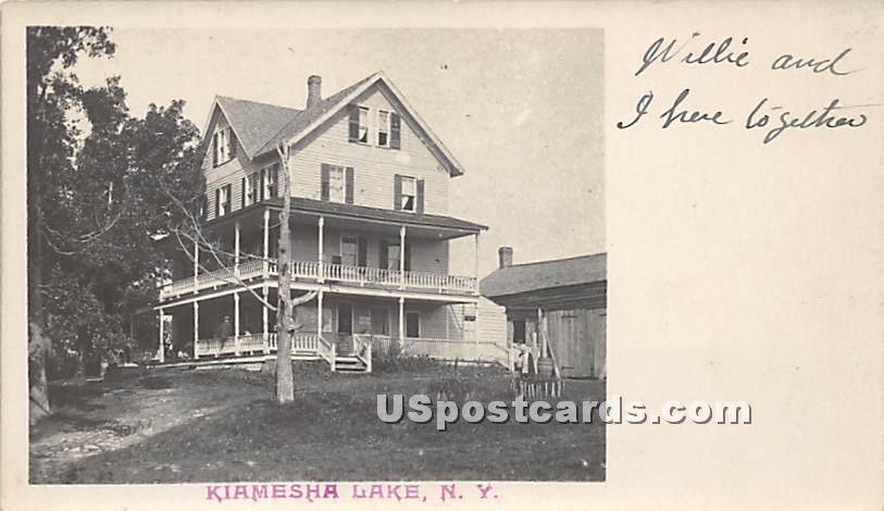 Building - Kiamesha Lake, New York NY Postcard