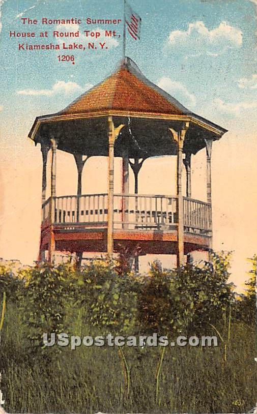 The Romantic Summer House - Kiamesha Lake, New York NY Postcard