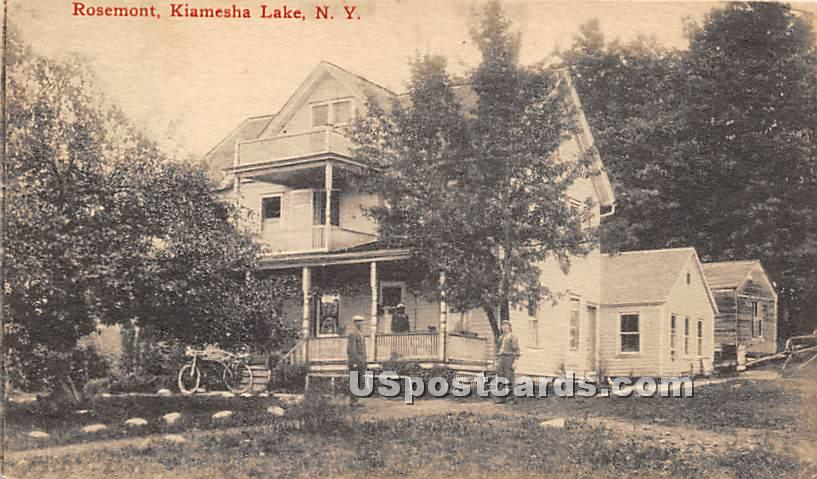 Rosemont - Kiamesha Lake, New York NY Postcard