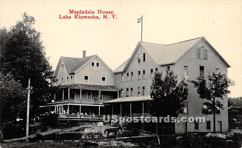 Mapledale House - Kiamesha Lake, New York NY Postcard