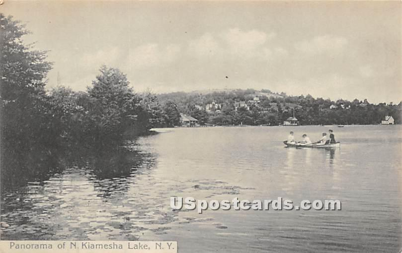 Panorama - Kiamesha Lake, New York NY Postcard