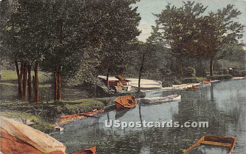 Boats - Kiamesha Lake, New York NY Postcard