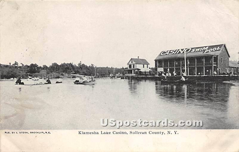 Kiamesha Lake Casino - New York NY Postcard