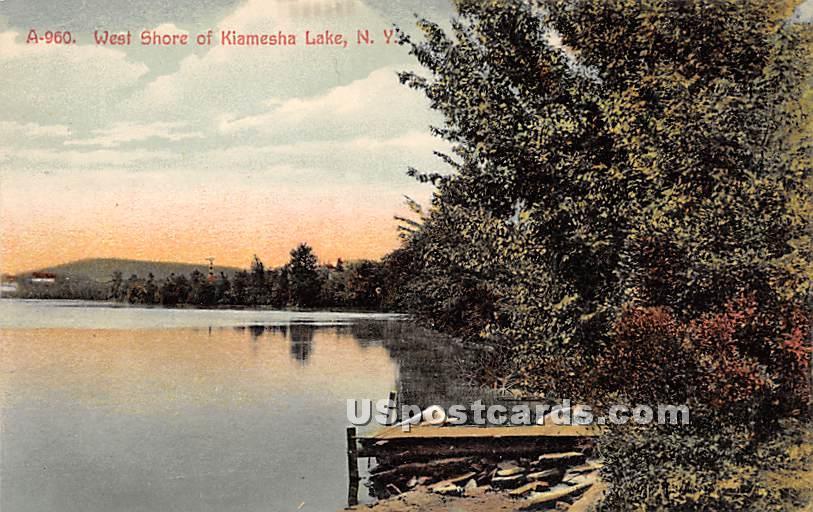 West Shore - Kiamesha Lake, New York NY Postcard