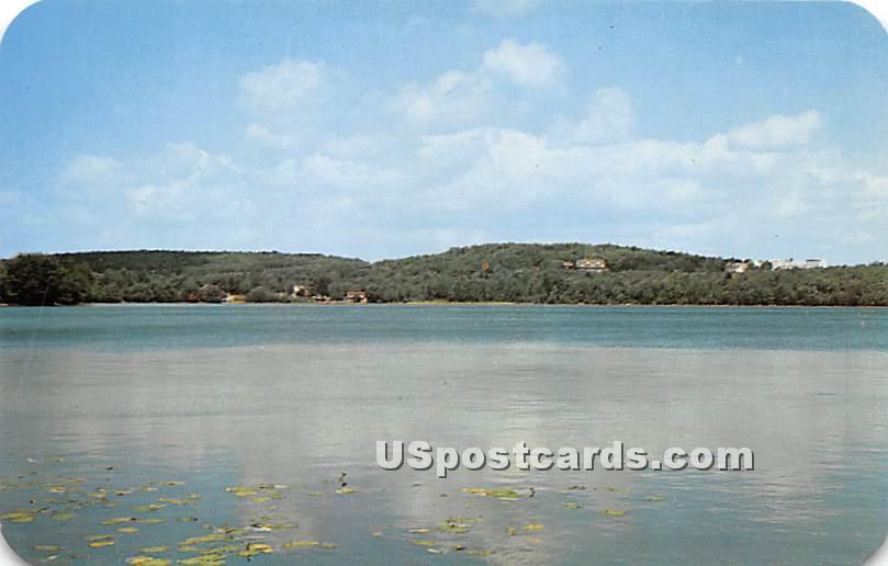 Catskill Mountain - Kiamesha Lake, New York NY Postcard