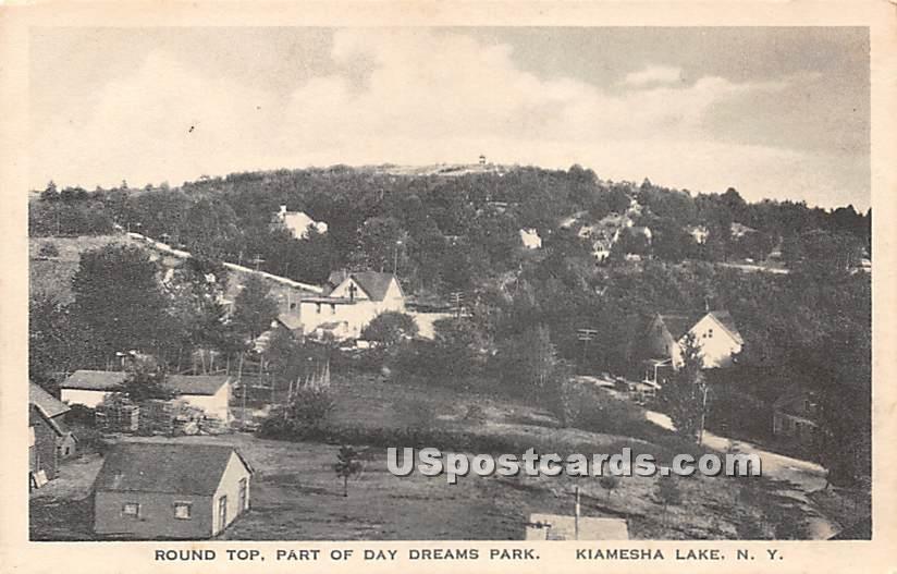 Round Top - Kiamesha Lake, New York NY Postcard