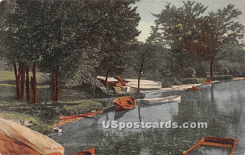 Near Monticello - Kiamesha Lake, New York NY Postcard