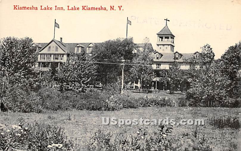 Kiamesha Lake Inn - New York NY Postcard