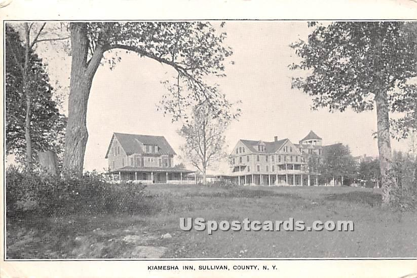 Kiamesha Inn - Kiamesha Lake, New York NY Postcard