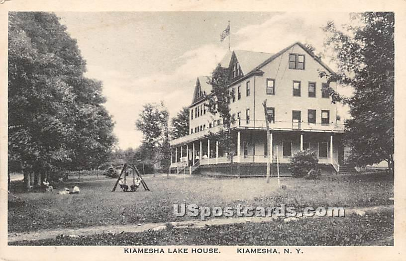 Kiamesha Lake House - New York NY Postcard