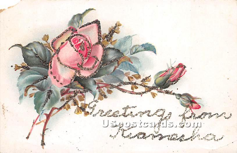 Greetings from - Kiamesha Lake, New York NY Postcard