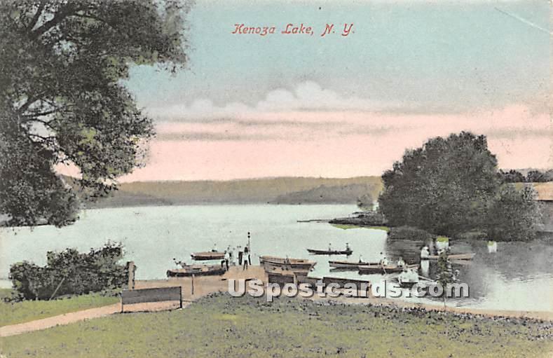 Kenoza Lake - New York NY Postcard