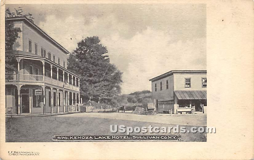 Kenoza Lake Hotel - New York NY Postcard