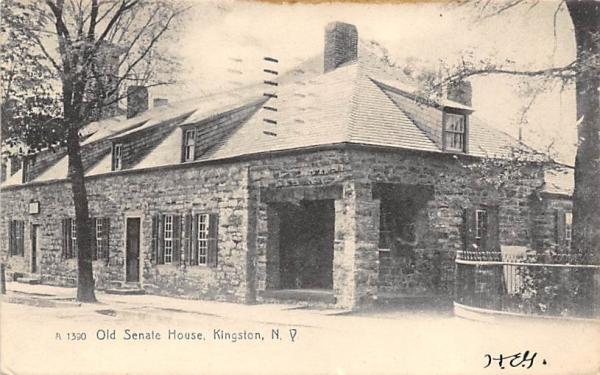 Old Senate House Kingston, New York Postcard