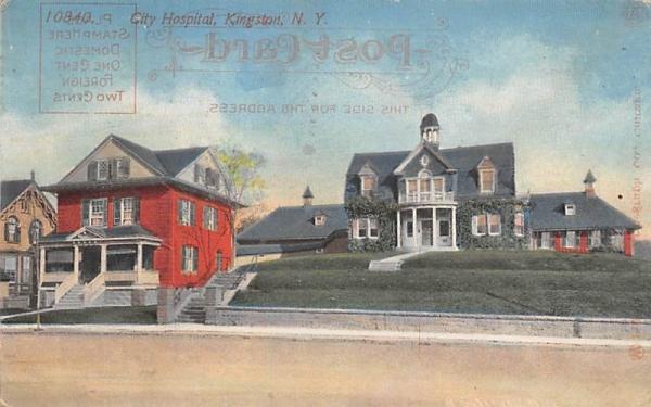 City Hospital Kingston, New York Postcard