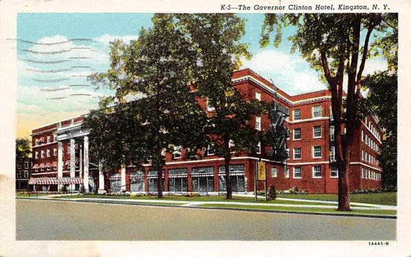 Governor Clinton Hotel Kingston, New York Postcard