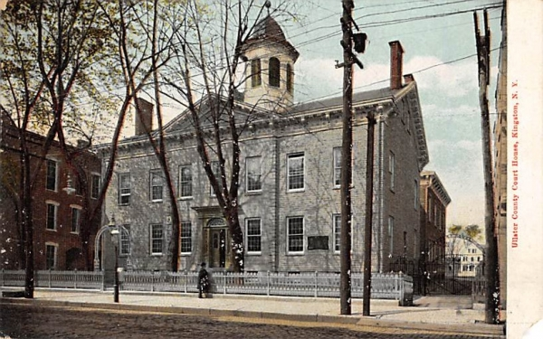 Ulster County Court House Kingston, New York Postcard