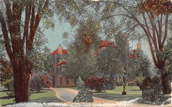 SD Coykendalls Residence Kingston, New York Postcard