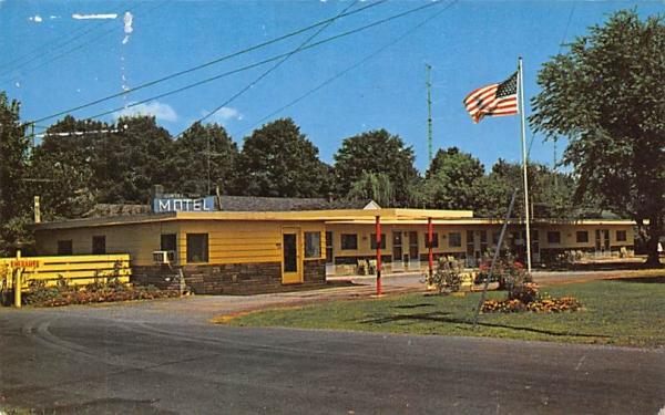 Sunset Park Motel Kingston, New York Postcard