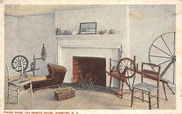 Old Senate House Dining Room Kingston, New York Postcard