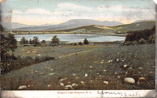 Copper Lake Kingston, New York Postcard