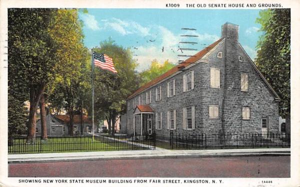New York State Museum Fair Street Postcard