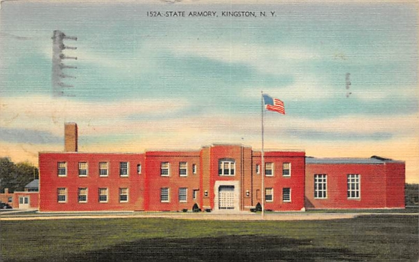United States Armory Kingston, New York Postcard