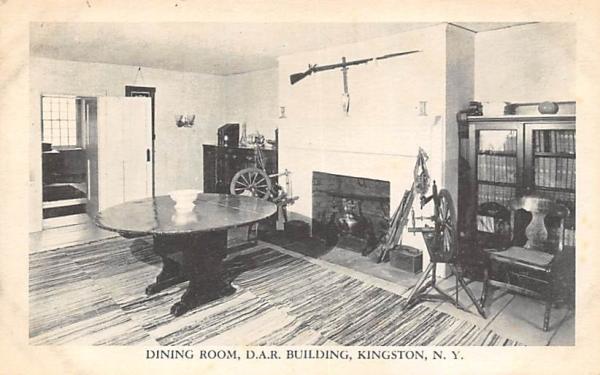 DAR Building Dining Room Kingston, New York Postcard