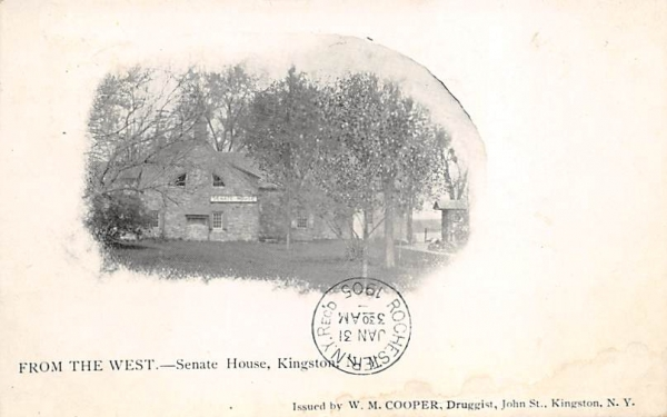 Senate House Kingston, New York Postcard