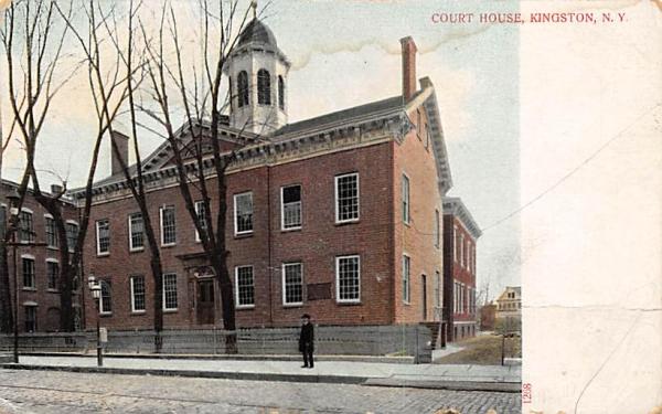 Court House Kingston, New York Postcard