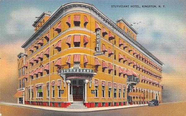 Stuyvesant Hotel Kingston, New York Postcard